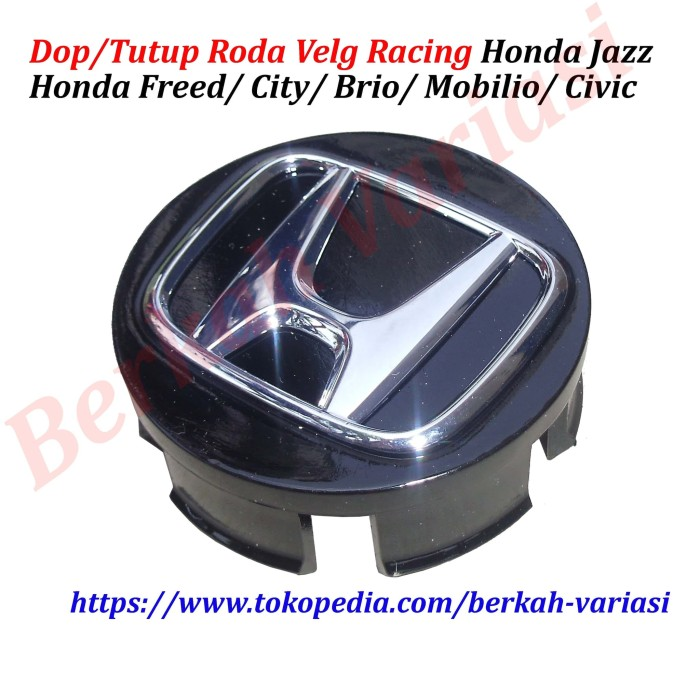 harga Dop roda velg racing honda jazz - freed - city - brio - mobilio -civic Tokopedia.com
