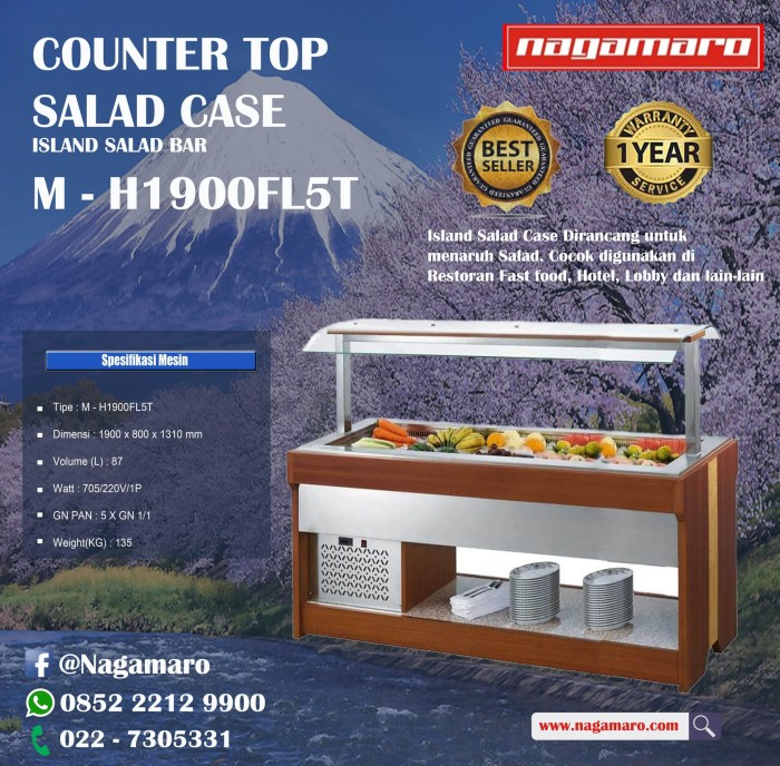 Jual Gea M H1900fl5t Countertop Salad