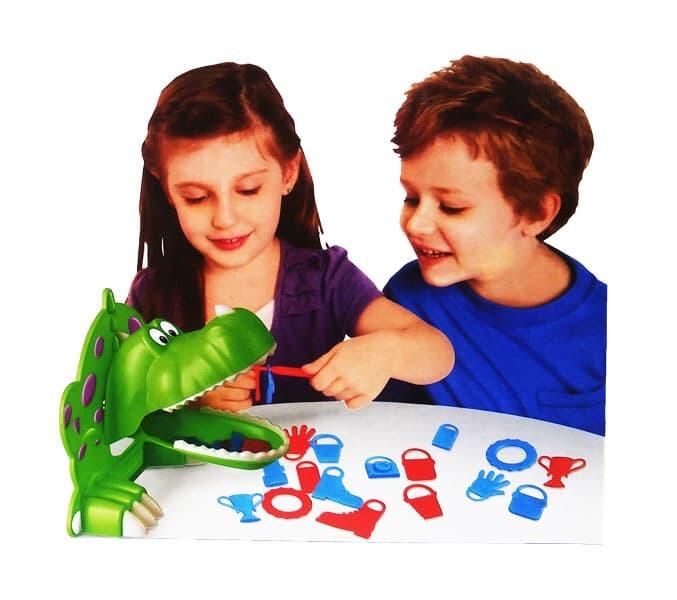 Foto Produk DINO'S DINNER GAMES / permainan keluarga family games seru dinosaurus dari KIREI ACCESORIES