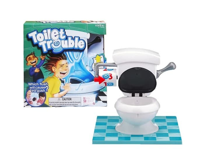 Foto Produk TOILET TROUBLE FAMILY GAMES / permainan running man seru kaya bad dog dari SYAHIRA SHOPE