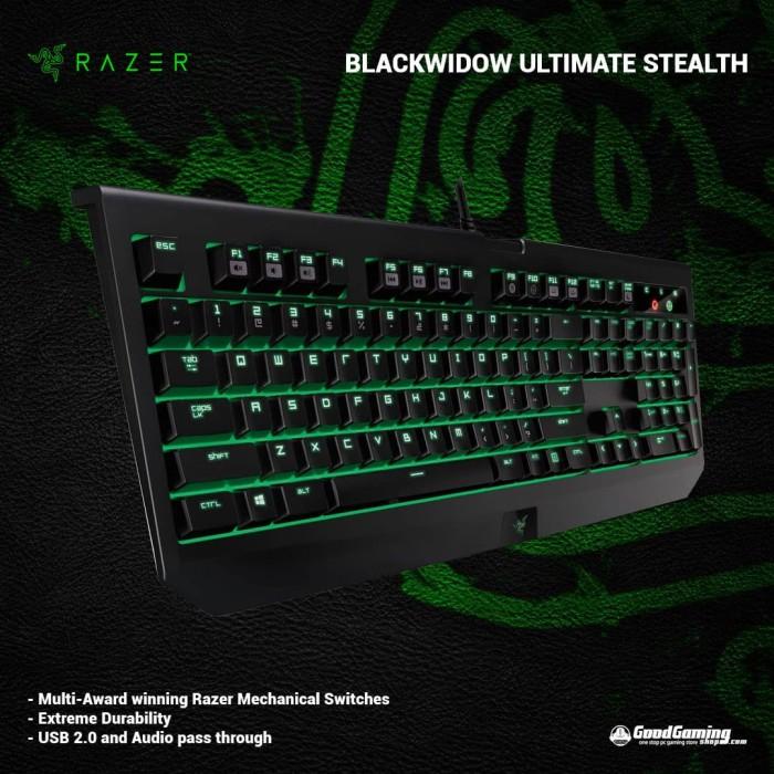 542a9e20a7f Jual Razer Blackwidow Ultimate Stealth 2016 - GOODGAMINGM2M   Tokopedia