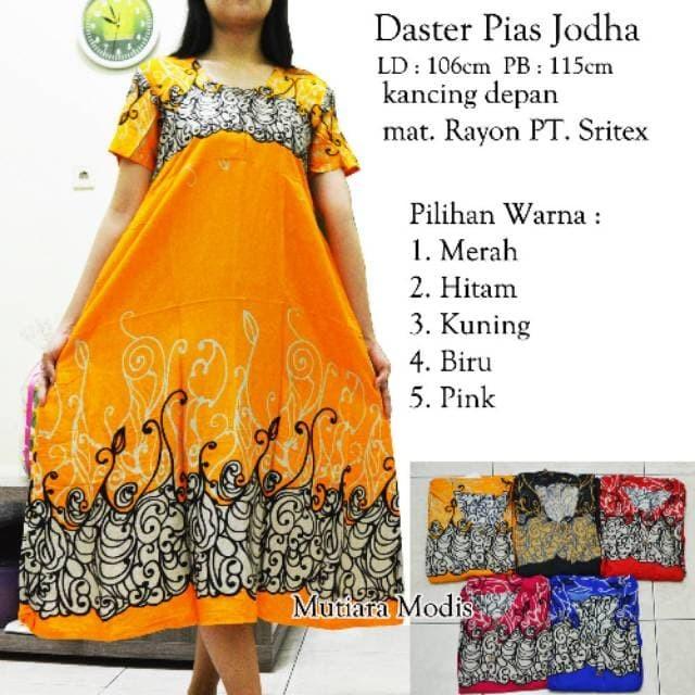 Jual PROMO Daster pias jodha Daster sritex TERMURAH - DKI Jakarta - BATIK  MY_W 08 | Tokopedia