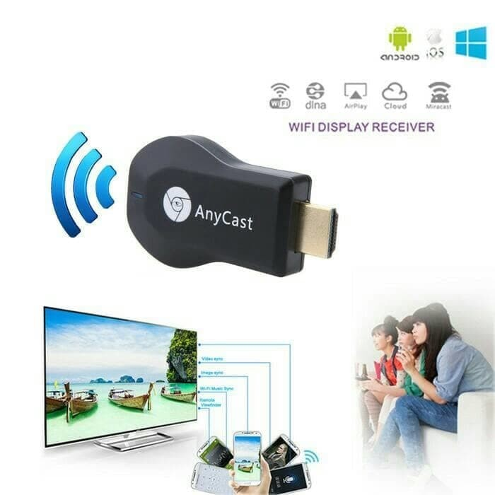 harga Anycast chromecast hdmi dongle wifi Tokopedia.com
