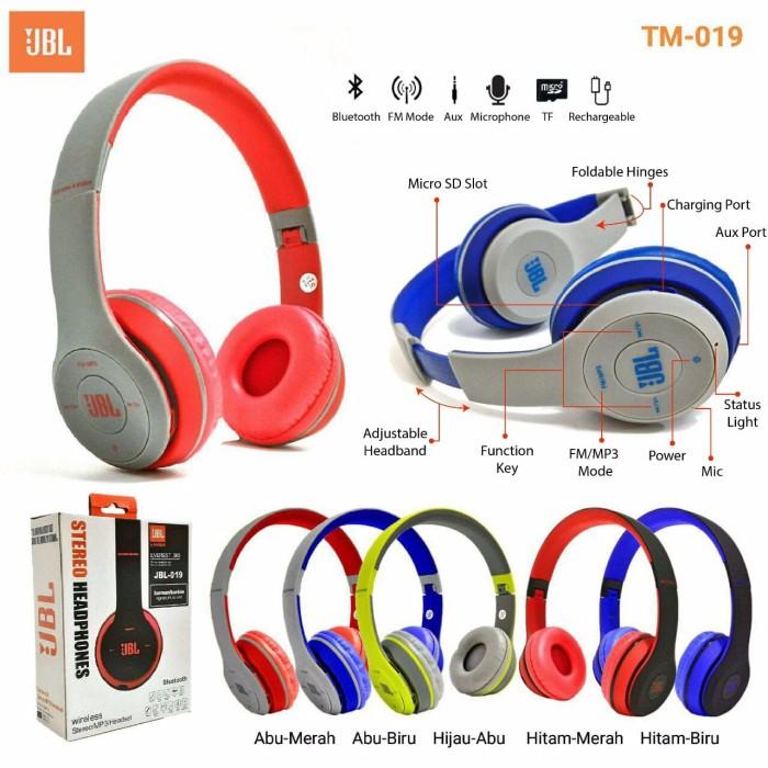 harga Headset bluetooth bando beats tm-019 active collecttion Tokopedia.com