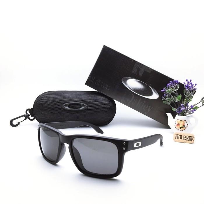 Jual kacamata   Sunglass Pria Okley Holbrook R-002 Super Fullset ... 098bed70ea