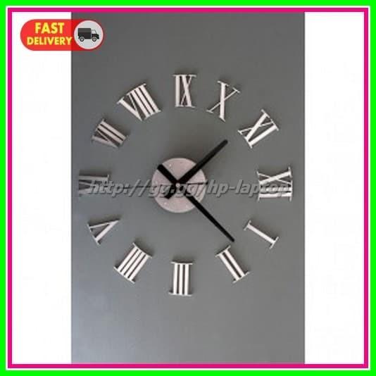Jual DIY Giant Wall Clock 30-60cm Diameter ELET00662 Jam Dinding ... 4a6c335ae6