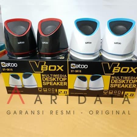 harga Satoo Vbox Usb Multimedia Speaker 2.0 Stereo  Sk15 Blanja.com