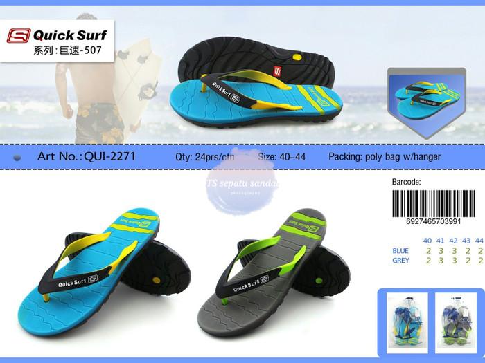 4fe26d22fbb Jual Sandal Jepit Pria QuickSurf / Sendal Jepit Cowok Quick Surf ...