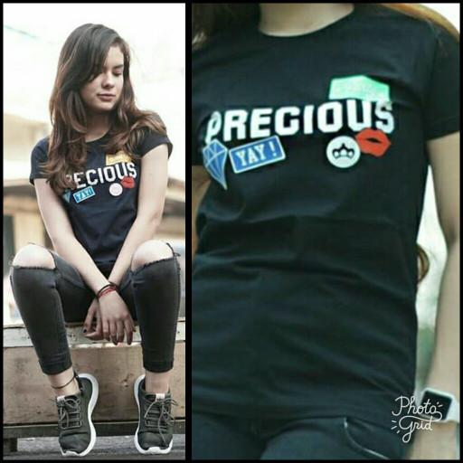 Precious T-shirt GRLT Ariel / Kaos Baju Greenlight Ariel