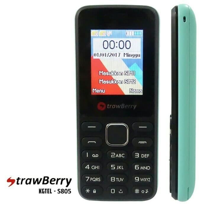 harga Strawberry s805 kgtel 1.8 inch/camera/mp3/garansi resmi Tokopedia.com