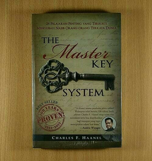harga Buku the master key system - bahasa indonesia Tokopedia.com