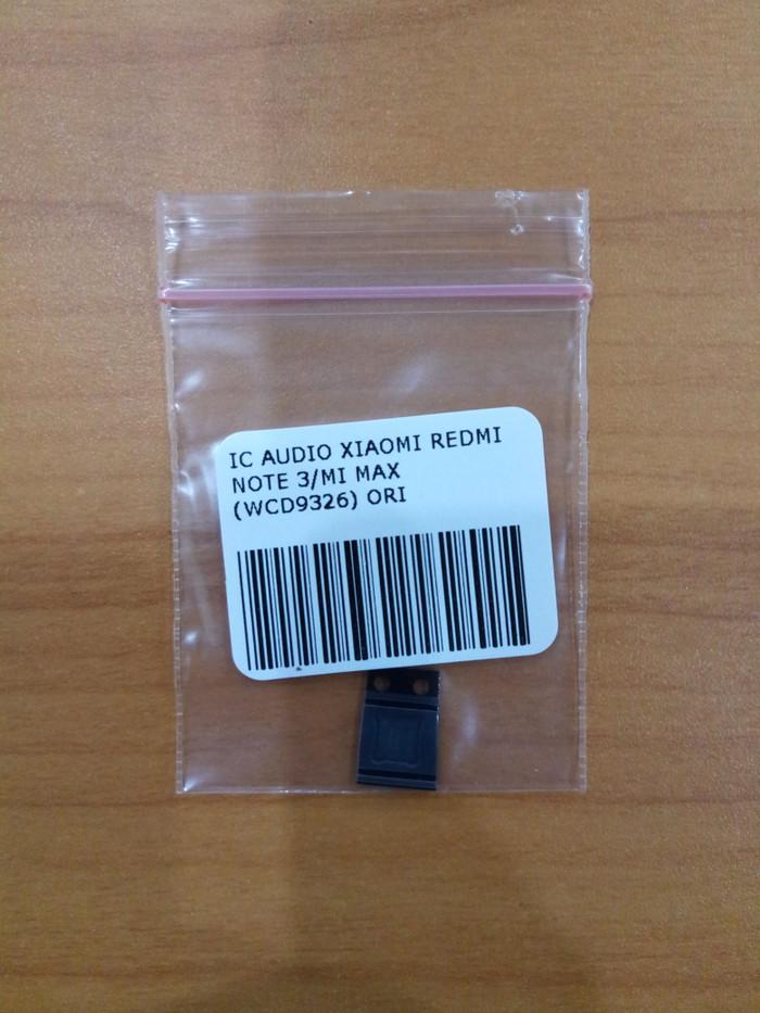 harga Ic audio xiaomi redmi note 3/mi max ori (wcd9326) Tokopedia.com
