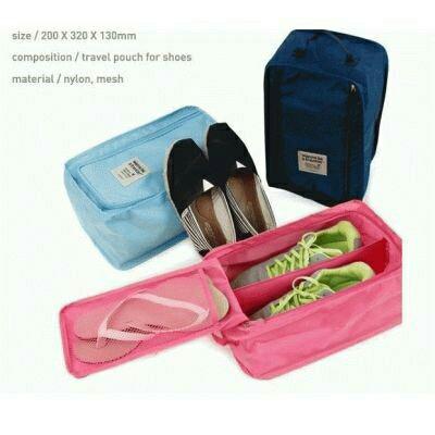 Jual Korean Shoes Organizer Travelling Organizer Shoes Bag Tas ... 320d2ebf9e
