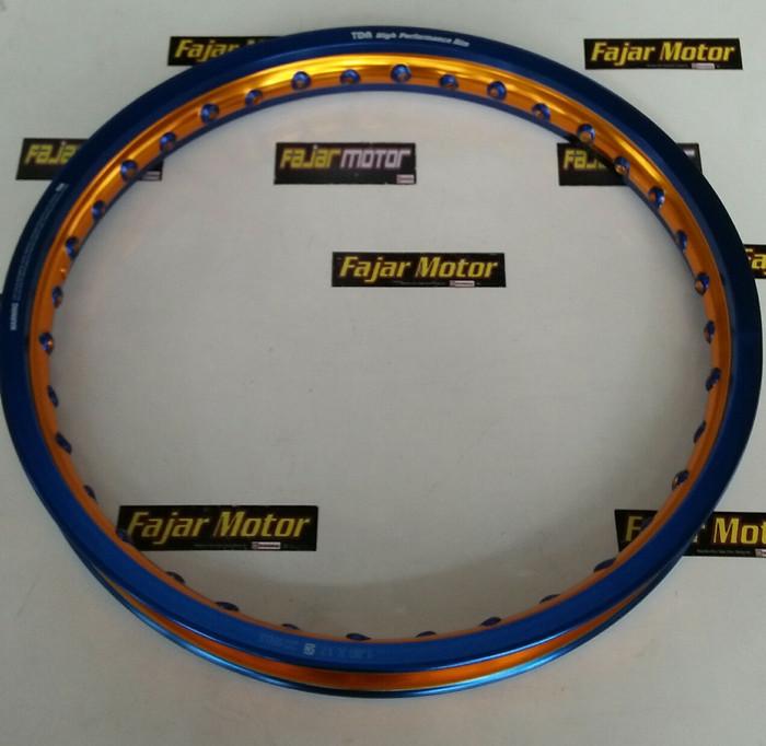 harga Velg tdr dual thone 160-17 blue gold Tokopedia.com