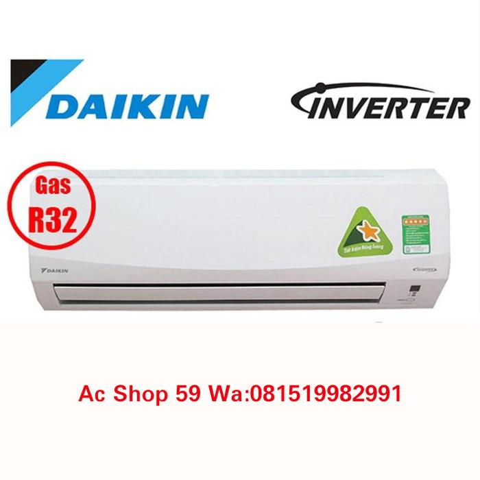 AC DAIKIN 1 2 PK FTKQ 15SVM4 FLASH INVERTER THAILAND R32 NEW