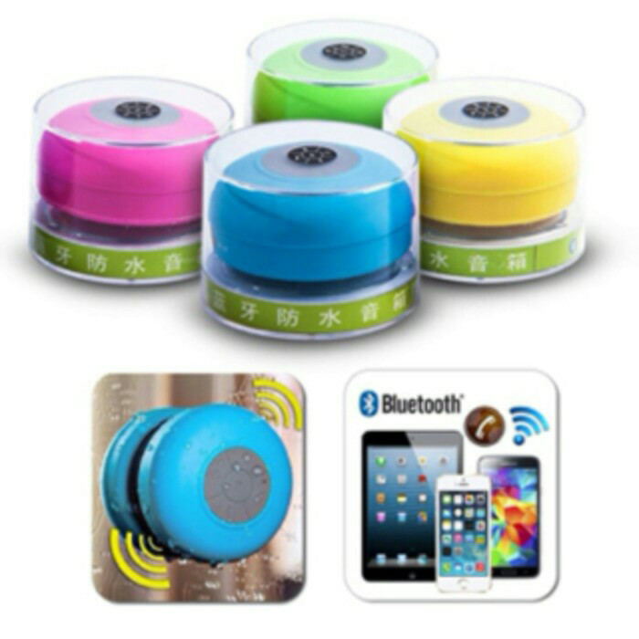 harga Speaker mini bluetooth anti air speaker bluetooth shower Tokopedia.com