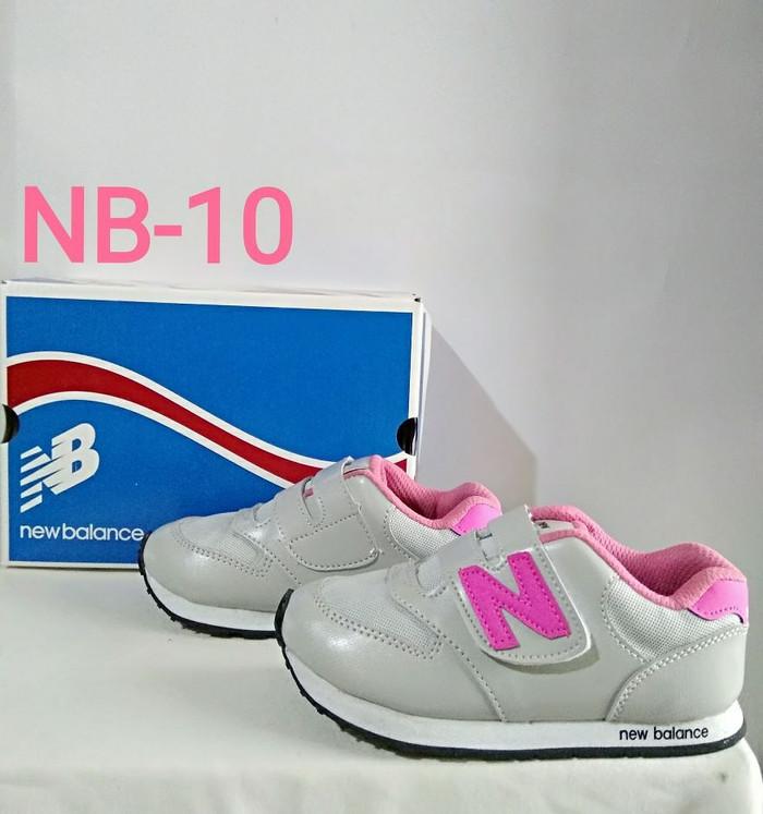 harga Sepatu sport anak & balita abu2 - pink nb Tokopedia.com