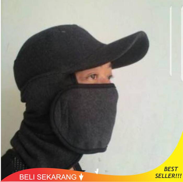 Topi Masker Ready Now Bapak Anak Jaman Now Trendy Jepang Pancing Tani 29ab7da383