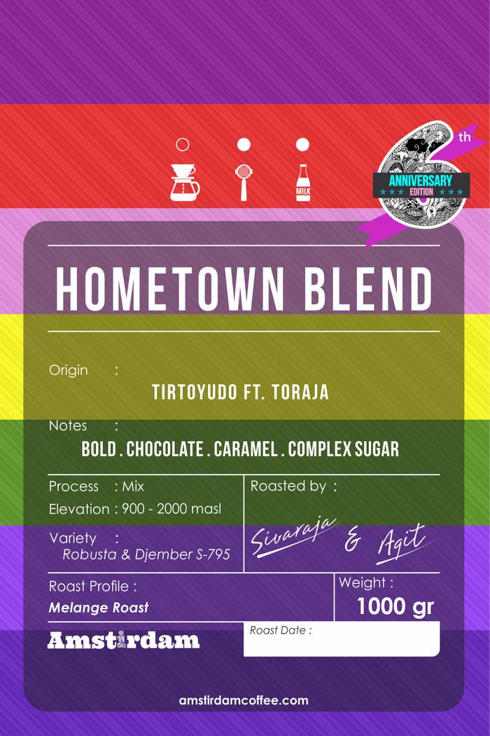 Foto Produk Hometown Espresso Blend (1kg) dari Amstirdam Coffee