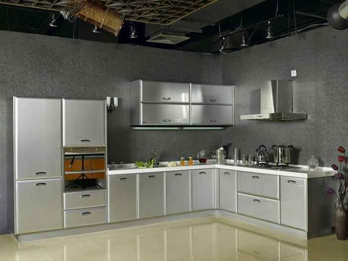 Jual Kitchen Set Stainless Steel Elegan Siku Jatikencana Jaya