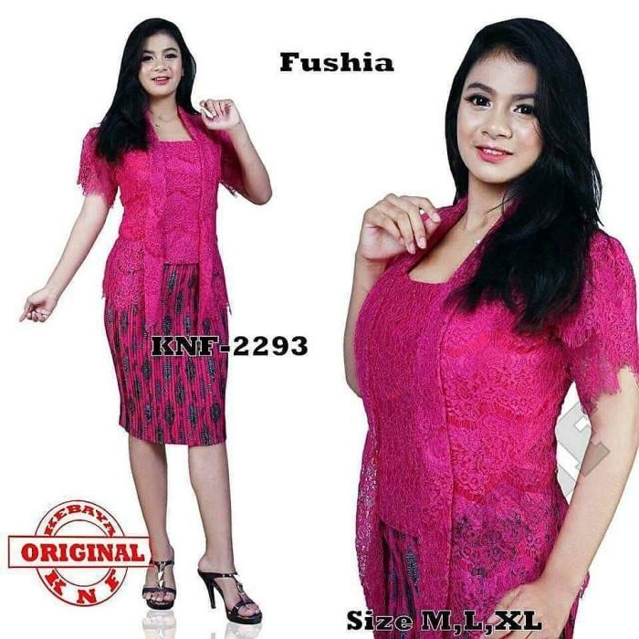 Jual Kebaya Kutubaru Brukat Polos Tangan Pendek Pink Fanta Dki Jakarta Sarika Fashion Muslim Tokopedia