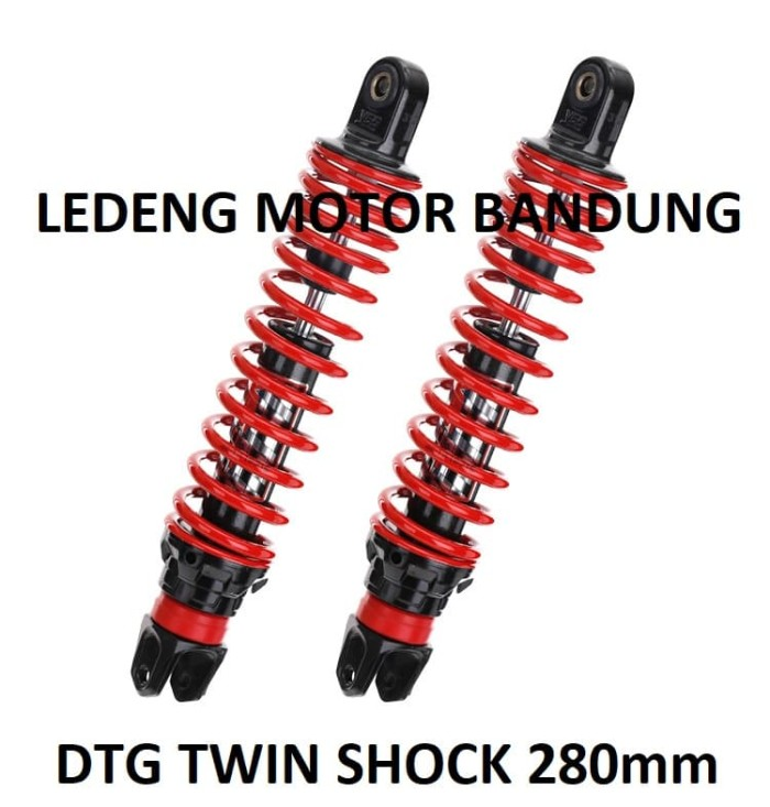 harga Yss dtg 280mm twin shockbreaker yamaha bebek shock gas hybrid 280 Tokopedia.com