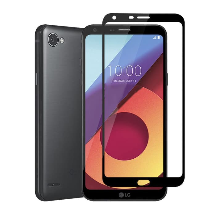 Jual Hmc Lg Q6 Q6 Plus Tempered Glass 2 5d Full Screen Lis
