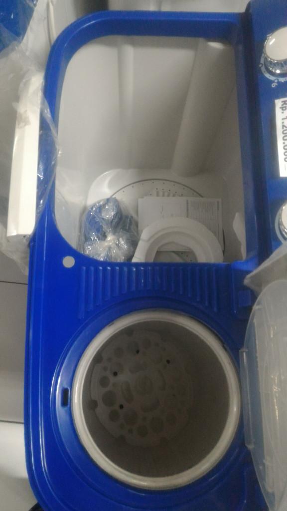Mesin Cuci 2 Tabung Merk AQUA JAPAN Tipe QW 771 XT