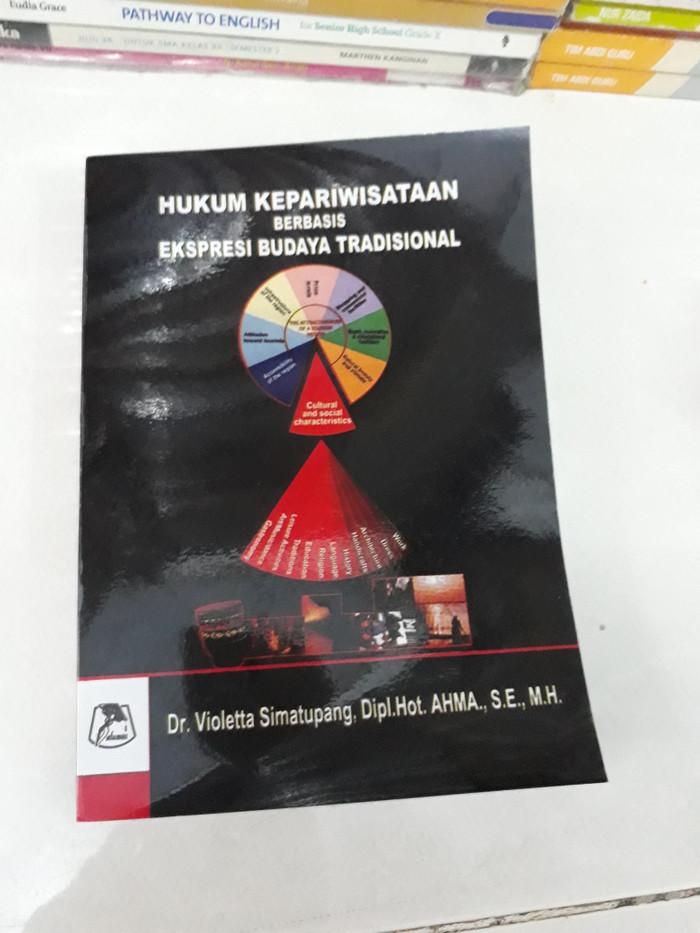 Foto Produk Buku hukum kepariwisataan berbasis ekspresi budaya tradisional dari iinbuku