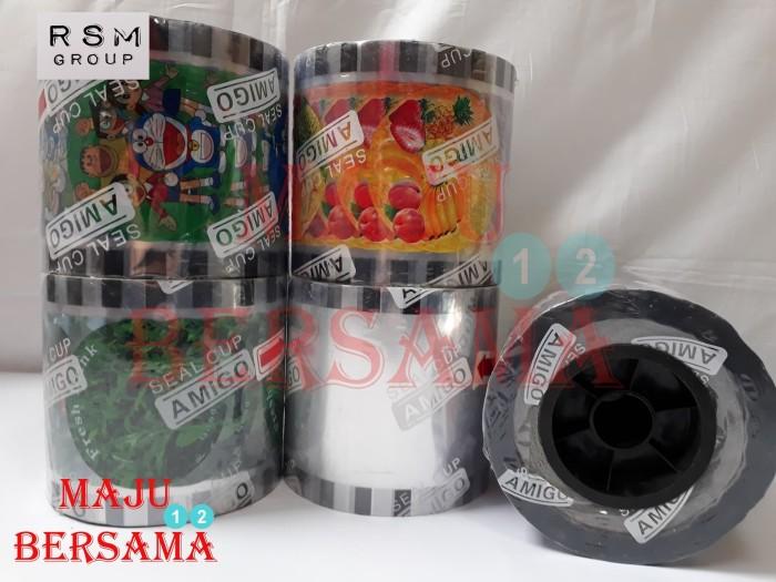 harga Tutup gelas plastik cup roll lid sealer seal press pop ice bergambar Tokopedia.com