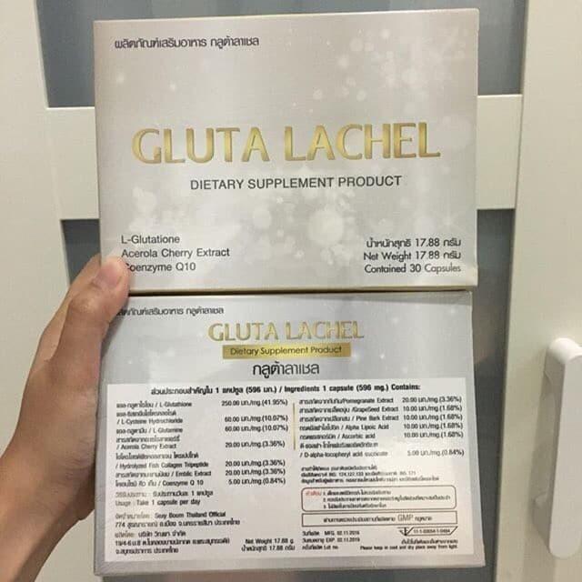 Gluta Lachel ORIGINAL from Thailand (Kemasan Baru Gluta Lapunzel)