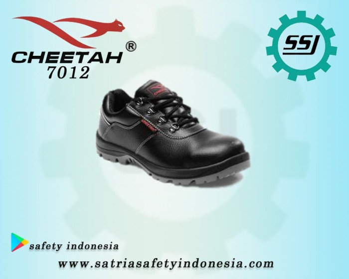 Jual Sepatu Safety Cheetah 7012 H - Satria Saftindo  3f084ef187
