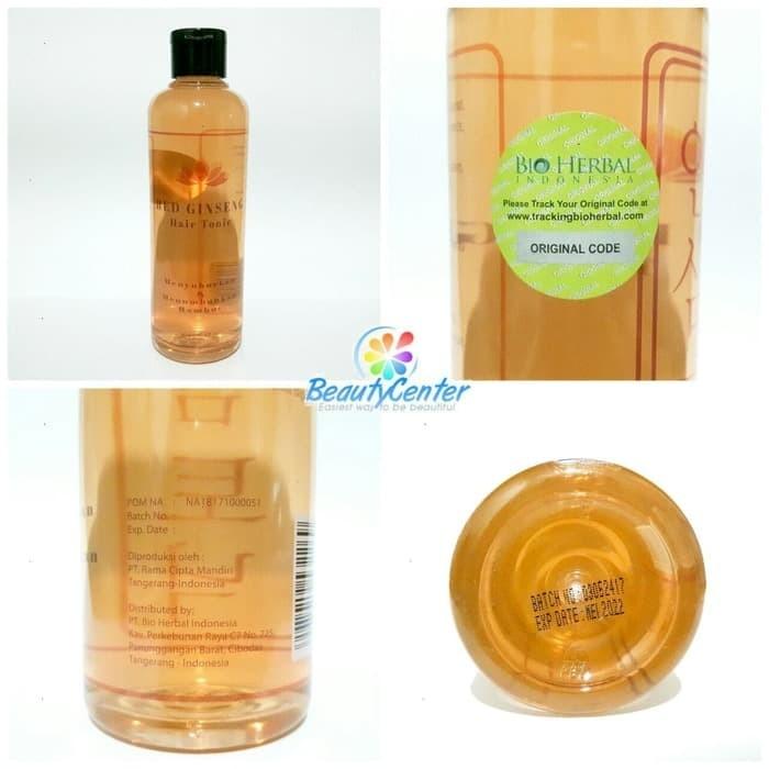 Hair Tonic Ginseng [BPOM] Red Ginseng Hair Tonic BPOM ORIGINAL /275ML
