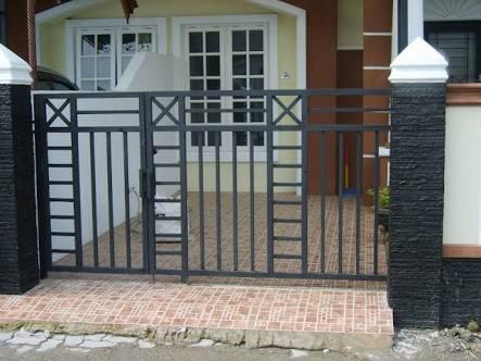 Jual Pintu Pagar Rumah Dorong Model