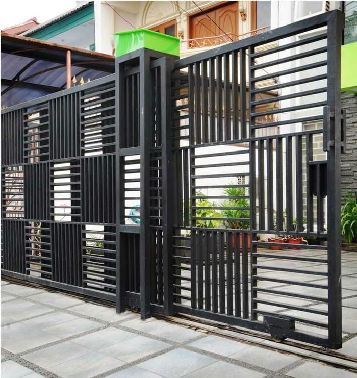 Pintu Pagar Rumah Terkini Desainrumahid com