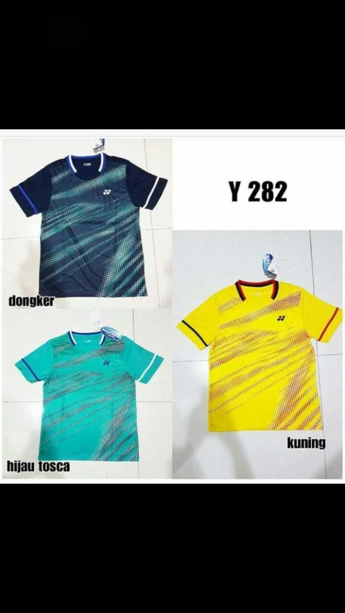 Kaos badminton bulutangkis yonex y282