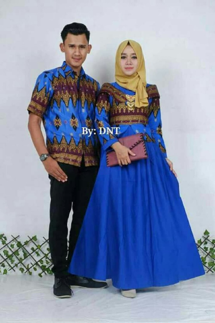 baju batik couple keluarga princess jasmine baju pesta sarimbit batik