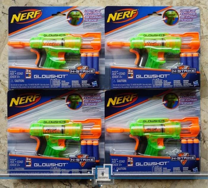 harga Nerf glowshot / pistol nerf Tokopedia.com