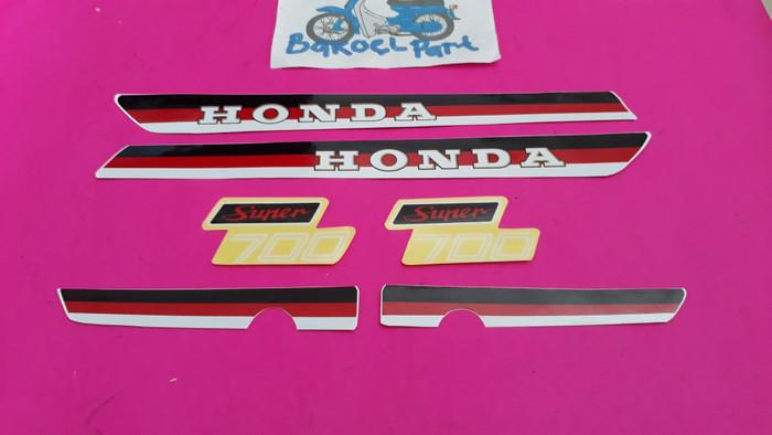 harga Striping sticker stiker honda c700 c 700 supercup supercub super cub. Tokopedia.com