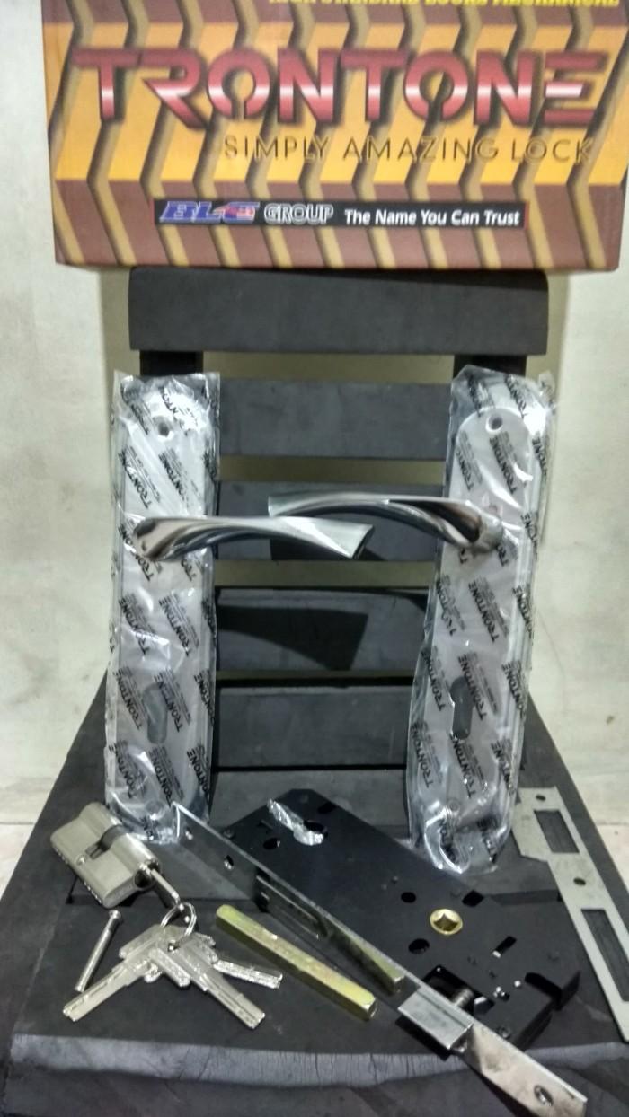 Jual 1 Set Kunci Pintu Besar Trontone T99 Np Handle Bellucci