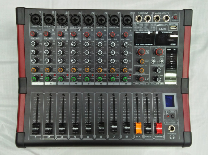 harga Mixer audio profesional ashley lm8 original Tokopedia.com