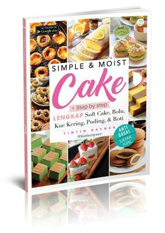 harga Simple & moist cake | tintin rayner Tokopedia.com