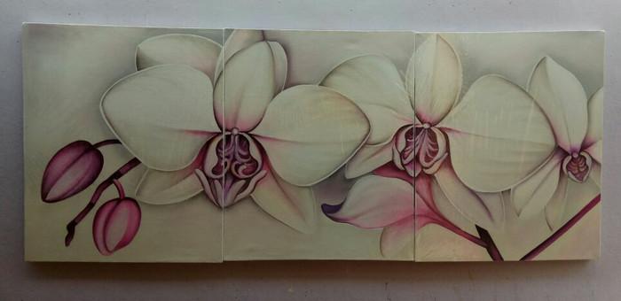 harga Lukisan panel bunga anggrek besar Tokopedia.com