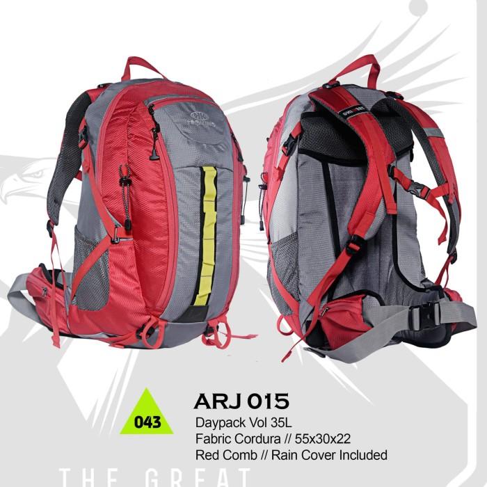 harga Tas gunung hiking adventure trekking carrier daypack - arj 015 35 l Tokopedia.com