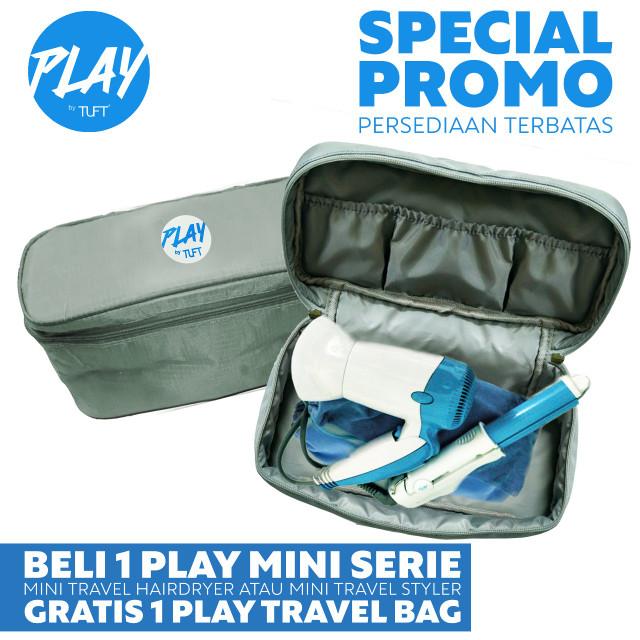 harga Play by tuft mini travel styler - catokan mini Tokopedia.com