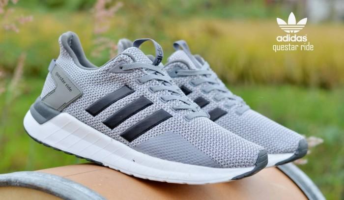 Jual Sepatu Adidas Pria Equestar Pria Grey Black Import Abu Abu