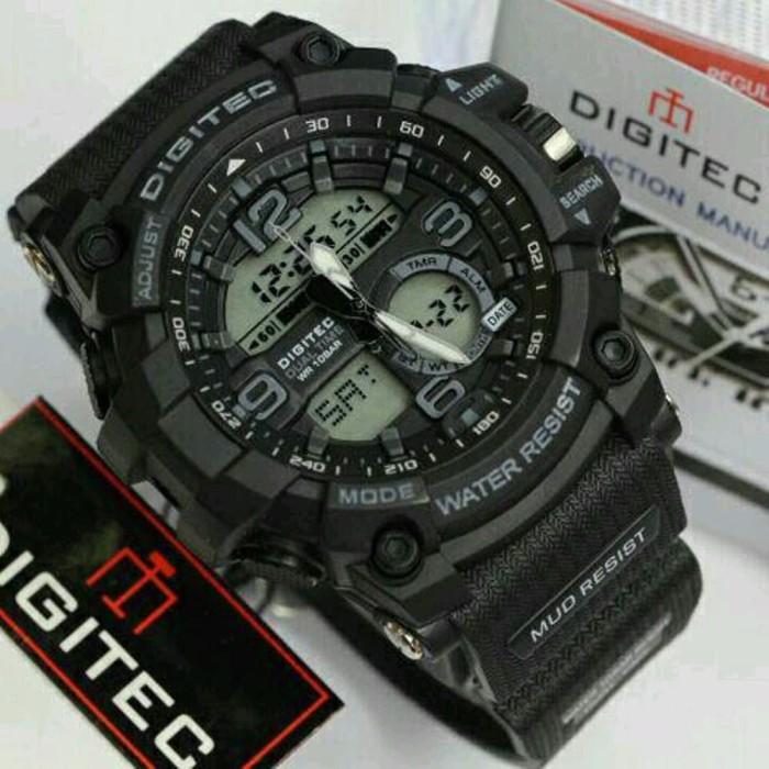 Terbaru jam tangan digitec original pria dg2102 digitec 2102 dg 2102t