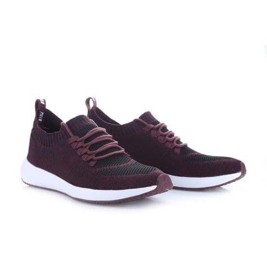 Jual Sepatu Piero Sneakers Terrasocks Evo - Maroon White - FUTSAL ... 71d1a6760f