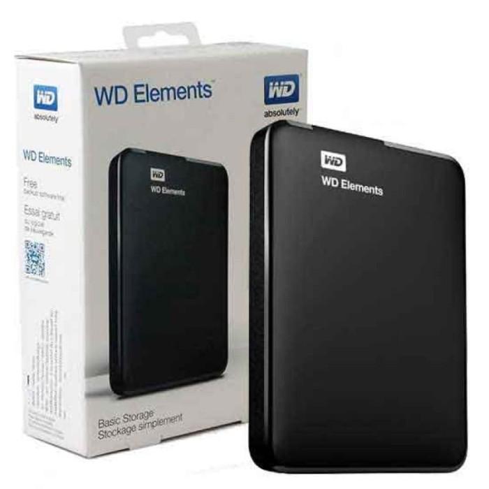 harga Wd elements harddisk external 1tb 2.5  + pouch Tokopedia.com