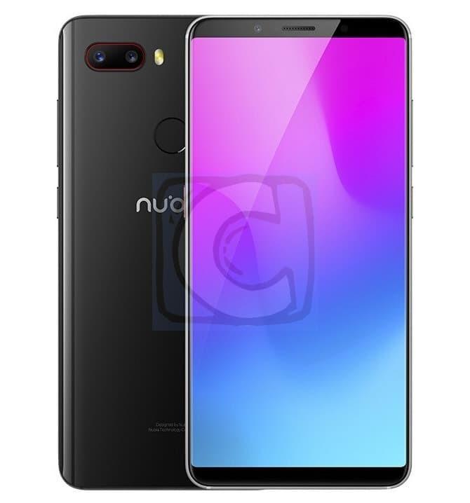 """ZTE Nubia Z18 Mini 5.7"""" 19:8 Snapdragon 660 6GB+64GB 24MP+8MP Android - Hitam"""